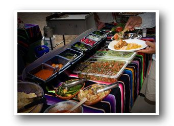 Mexican Party Food Table