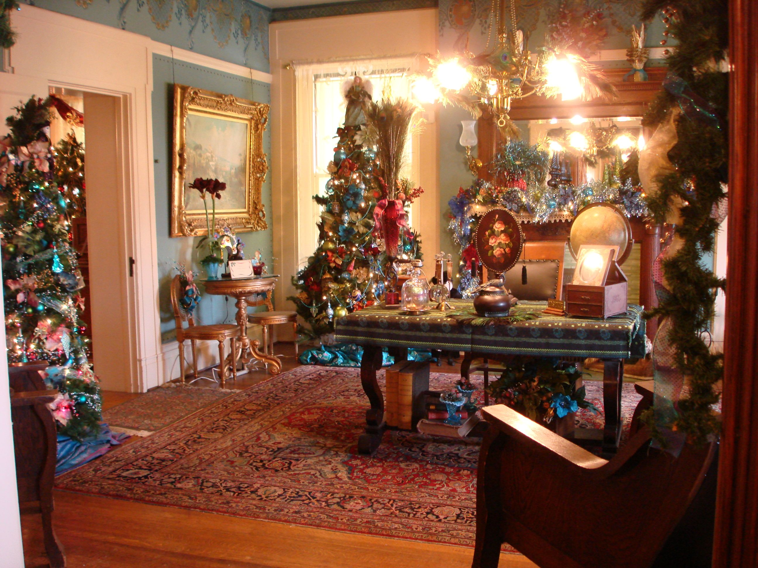 Delightful Inside The Waggoner Mansion Google Search Other Homes And Ideas. Photos Of Homes  Decorated For Christmas
