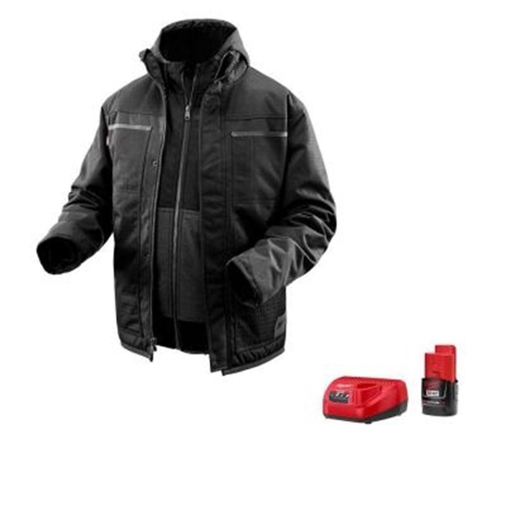 milwaukee m12 heated jacket home depot