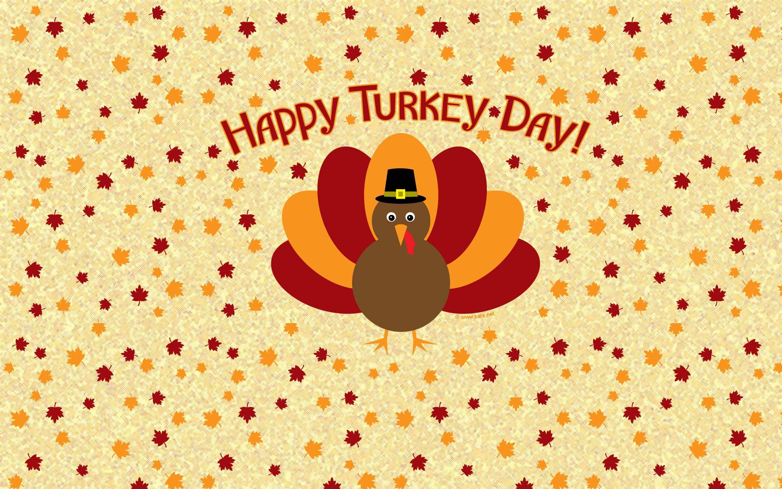 Happy Thanksgiving Turkey Wallpaper