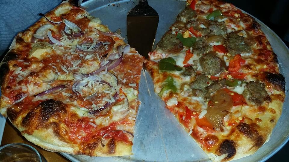 Pete's New Haven APizza in Friendship Heights, DC. It was