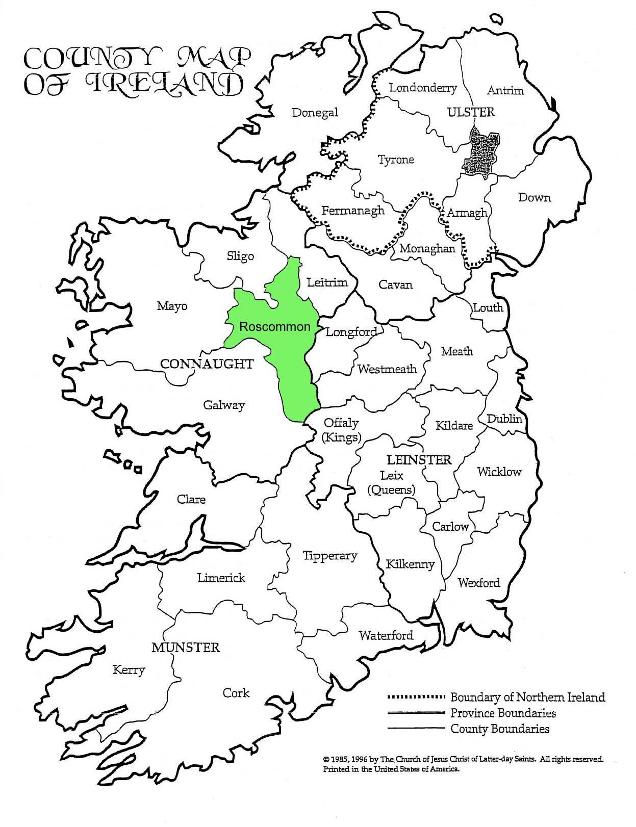 County Ros mon Google Search IRISH LOVE