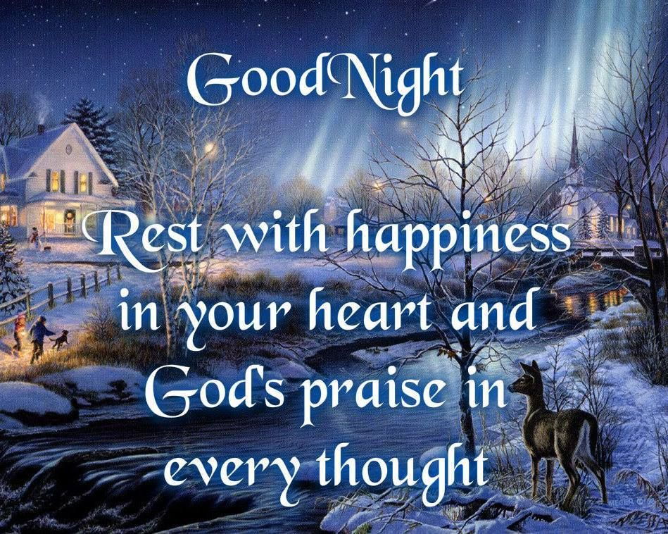 Good Night Blessings Images And Quotes: Good Evening Ladies, I Just Wanted To Wish You All A
