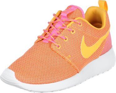 Nike Roshe Run W schoenen oranje roze