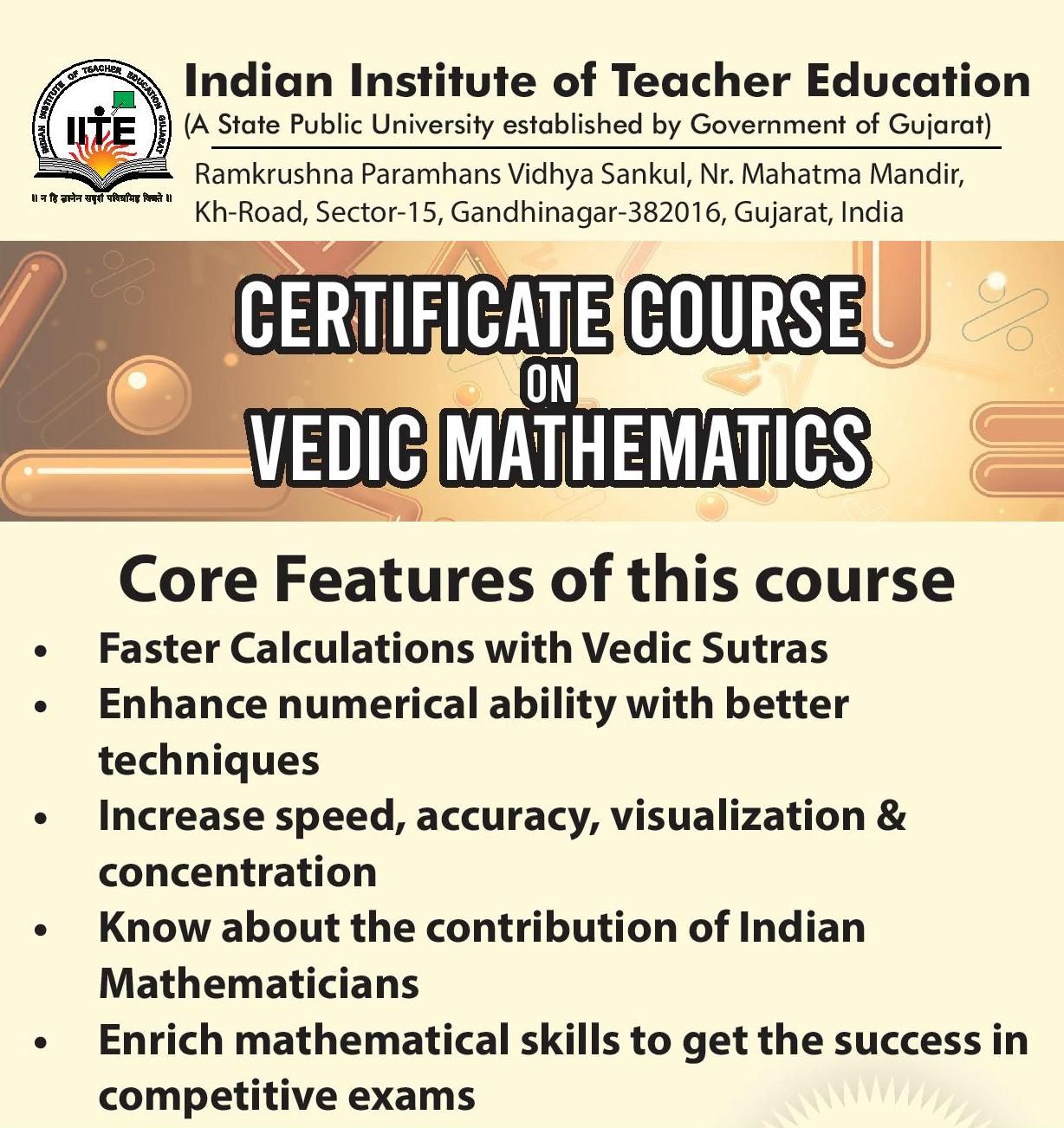 Are Suffering From Math Phobia Learn Vedic Maths The Fast Efficient And Easy To Learn Ancient Indian Reasoning And Mathematical T Mathematics Vedic Fun Math [ 1302 x 1228 Pixel ]