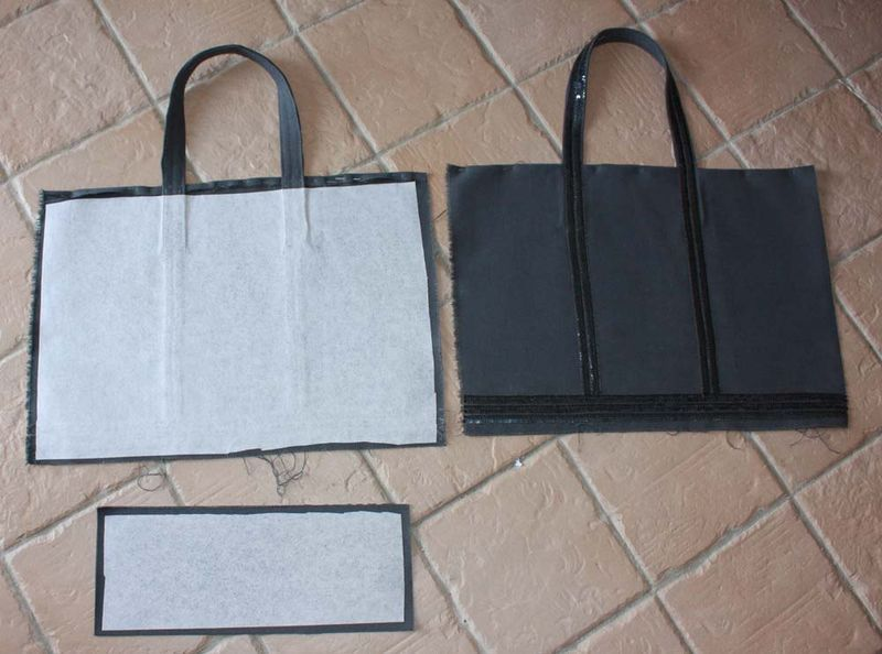 d but explications sac paillettes bolsas pinterest vanessa bruno simple sewing projects. Black Bedroom Furniture Sets. Home Design Ideas