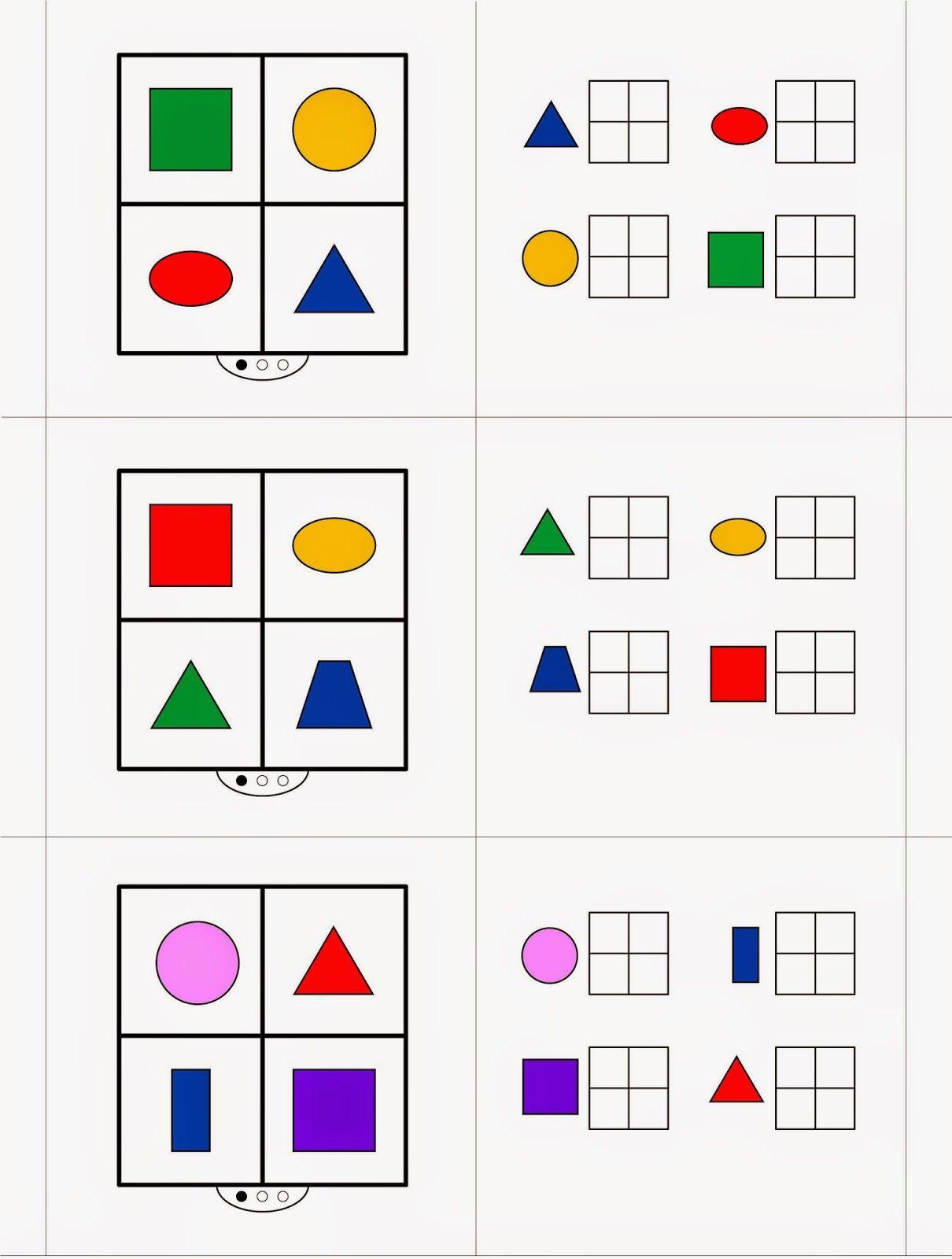 Gedächtnistraining/Wahrnehmung im 1. Schuljahr (1) | Wahrnehmung ...