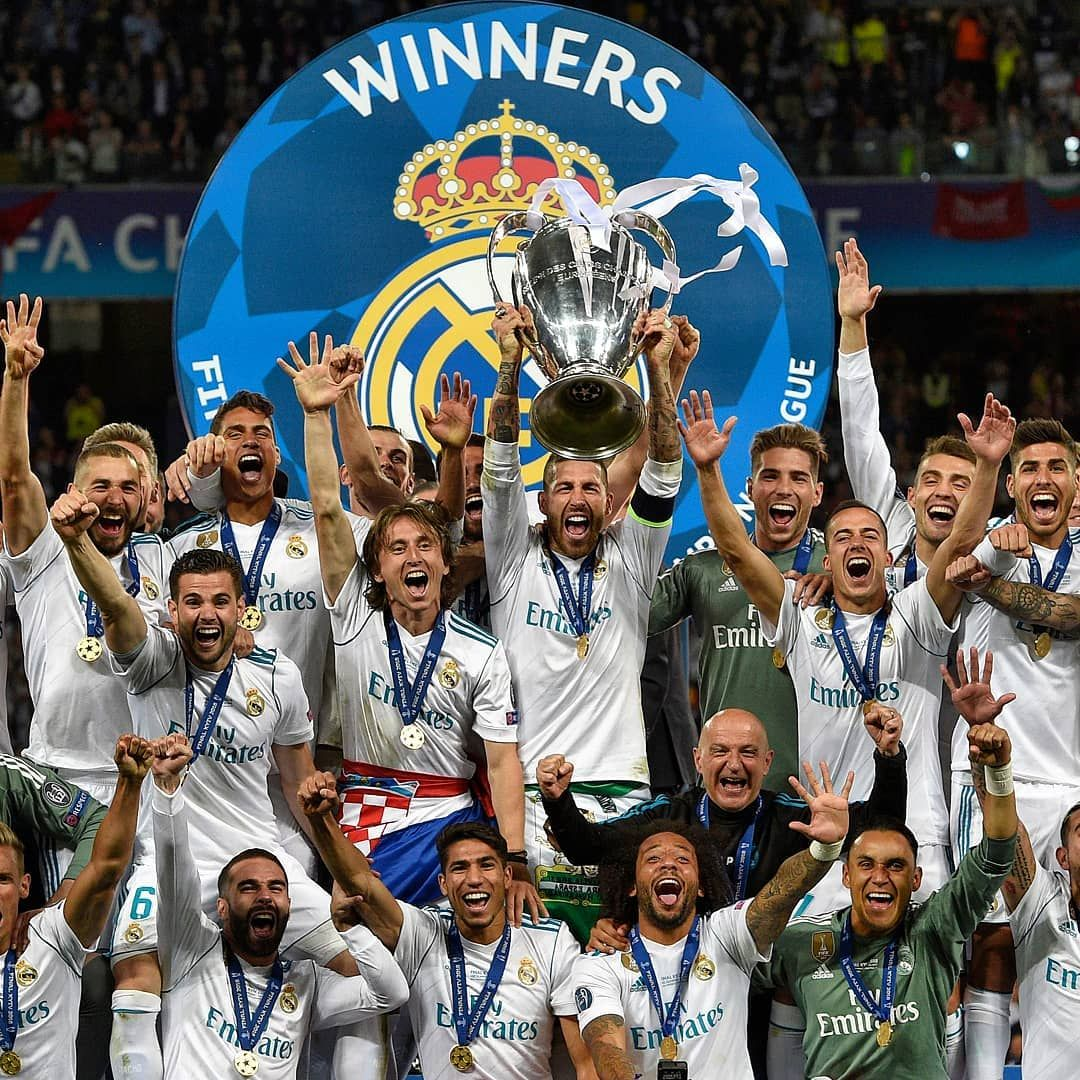 Real Madrid The Winner Of The Champions League 2017 2018 Realmadrid Championsleague Winner Soccer Fo Best Football Players Champions League Real Madrid