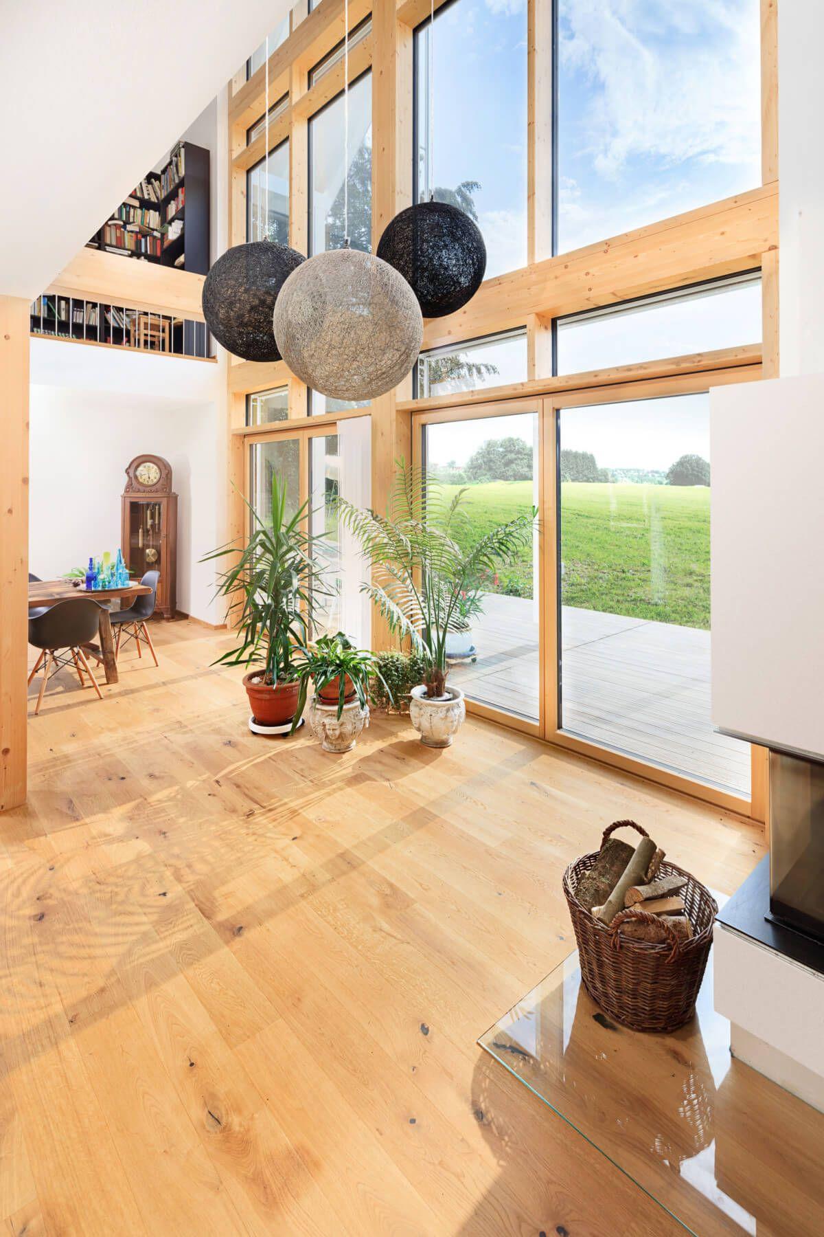 Wohnzimmer Mit Galerie Wohnideen Inneneinrichtung Einfamilienhaus
