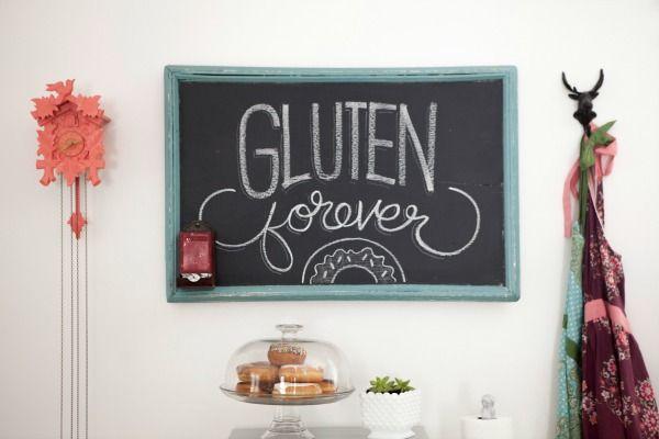 HOUSE*TWEAKING | House tweaking, Kitchen chalkboard