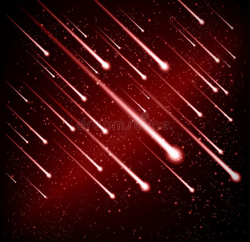 Comet Meteor Shower Background Vector Aff Meteor Comet Shower Vector Background Ad Meteor Shower Meteor Background