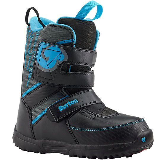 The Grom Snowboard Boot offers pint-sized progression for even the littlest munchkins, with expandable sizing that goes as they grow. | Via Burton.com