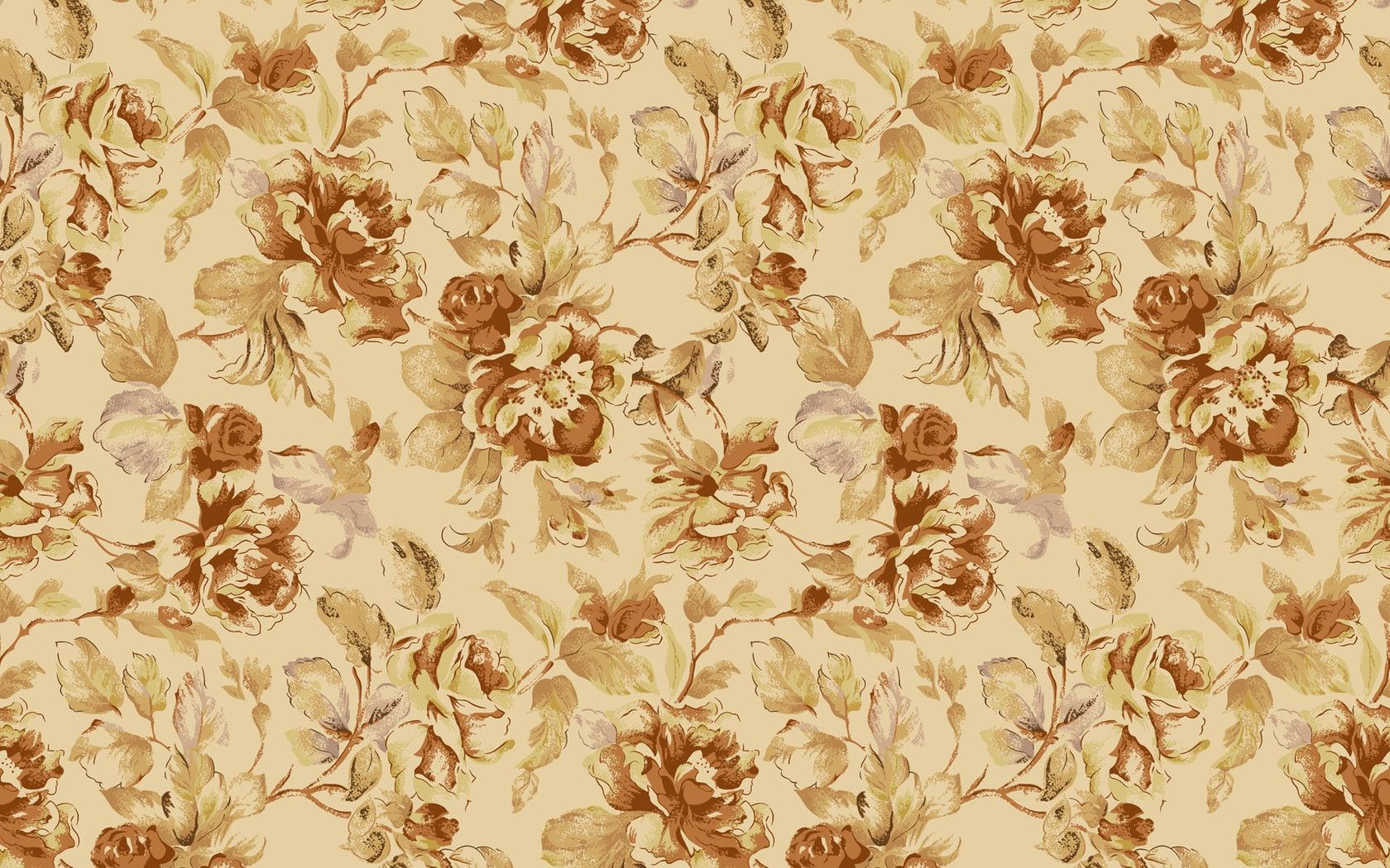floral pattern | Download Vintage floral pattern wallpaper