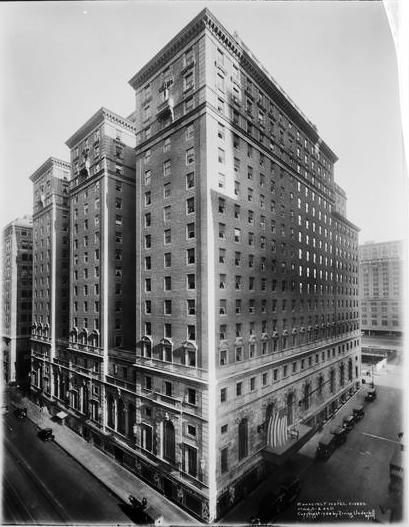 The 1924 Roosevelt Hotel -- Madison Ave At 45th Street