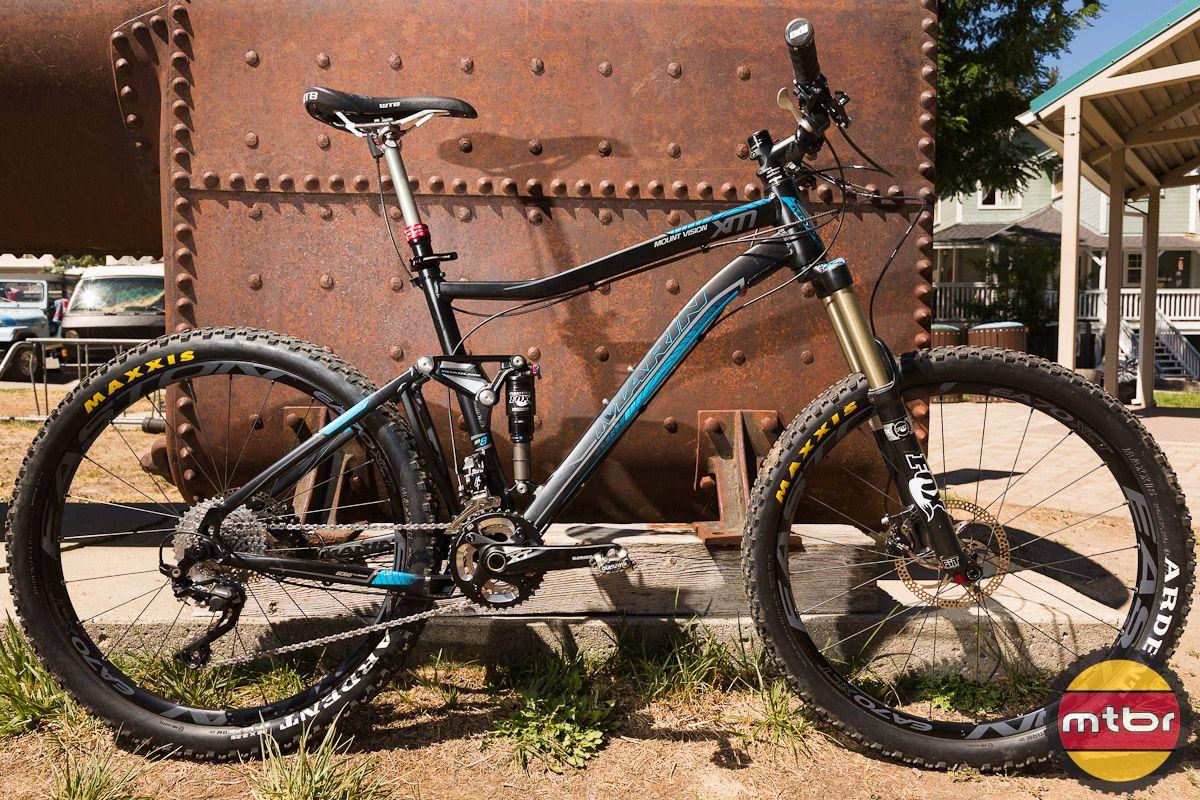 Marin 2013 Mount Vision Xm8 And Cortina Cx Mountain Bike Reviews