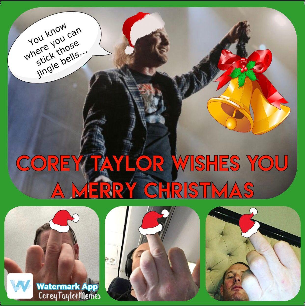 Bildergebnis für Corey taylor jingle bells