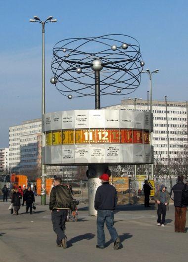 The World Clock Weltzeituhr Berlin Deutschland