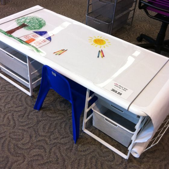 Drawing Table From The Container Store