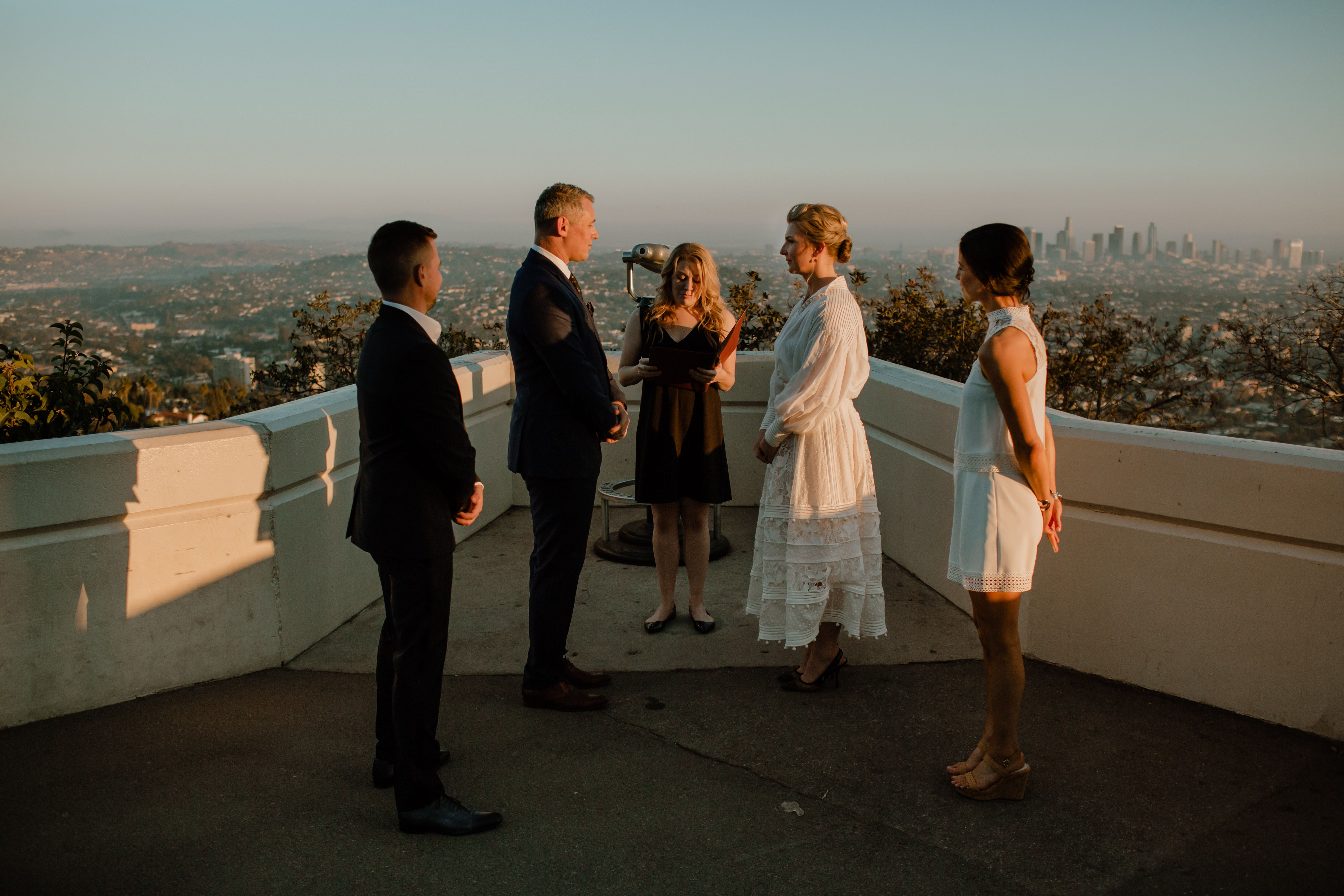 Pin On Griffith Observatory Elopement