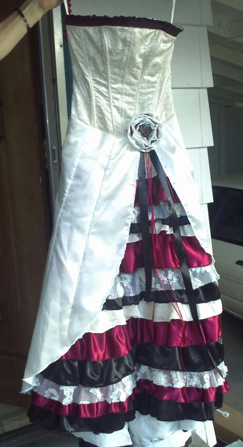 The Upcycled Wedding Dress I Made To Marry My Mad Hatter