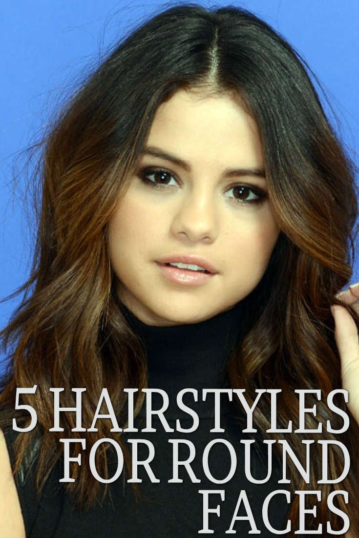 5 Hairstyles For Round Faces | Face shapes, Compliments and Rounding