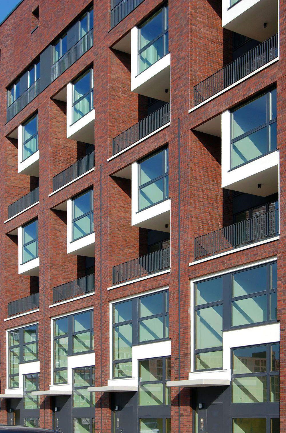 Moderne wohnarchitektur wohn und geschäftshaus pacamara fassadendetail foto axel neubauer