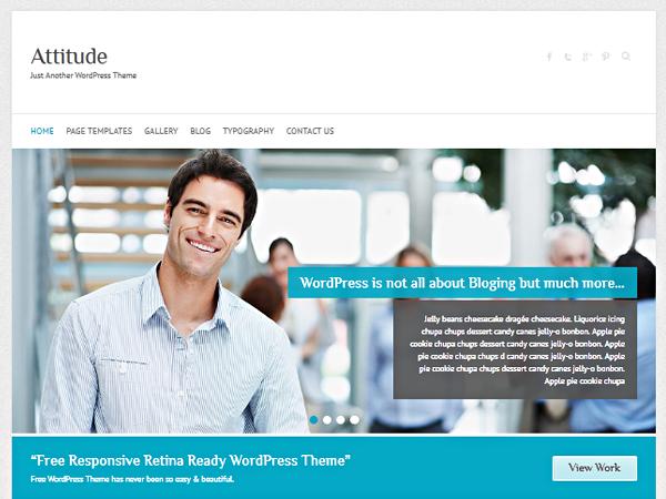Tema gratuito para wordpress en el área de negocios - #wordpress ...