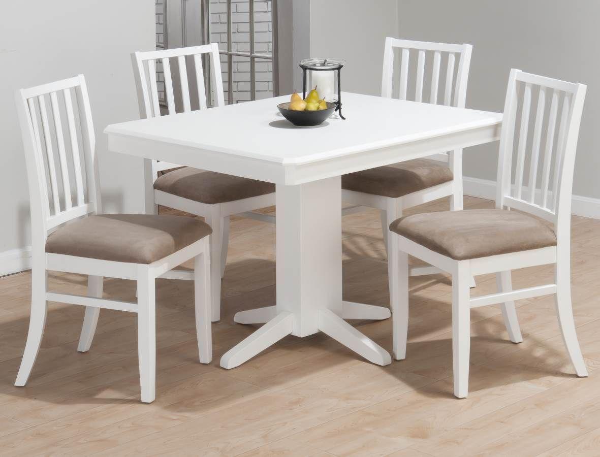Jofran Aspen White Rectangle Dining Table Jfn 625 44 Pedestal Dining Table Dining Table In Kitchen Dining Room Table