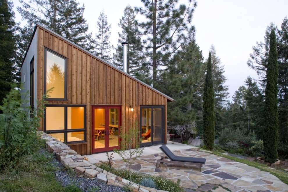 Pine Siding On A Modern Home Building A Shed Roof Small House Swoon Small House