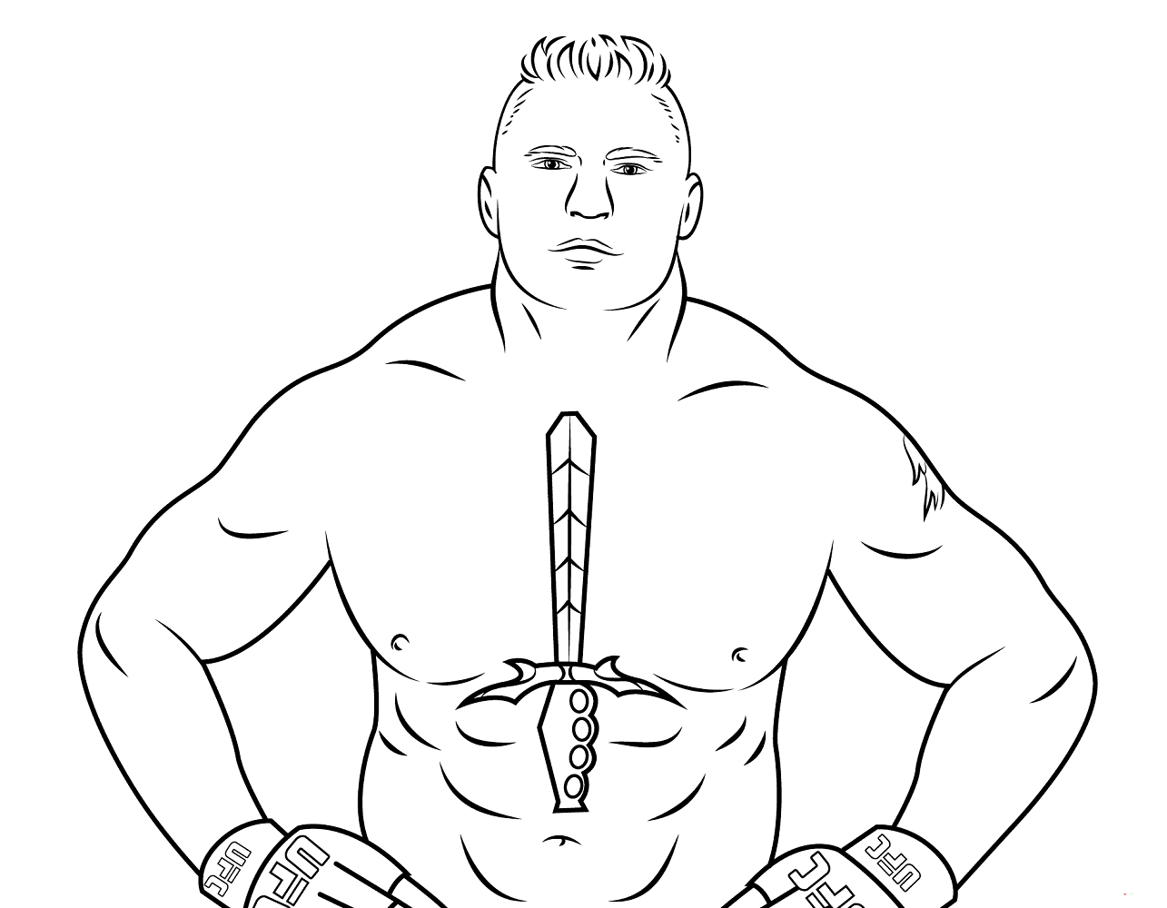 Free Printable Wwe Coloring Page Brock Lesnar Wwe Coloring Pages Coloring Pages Brock Lesnar