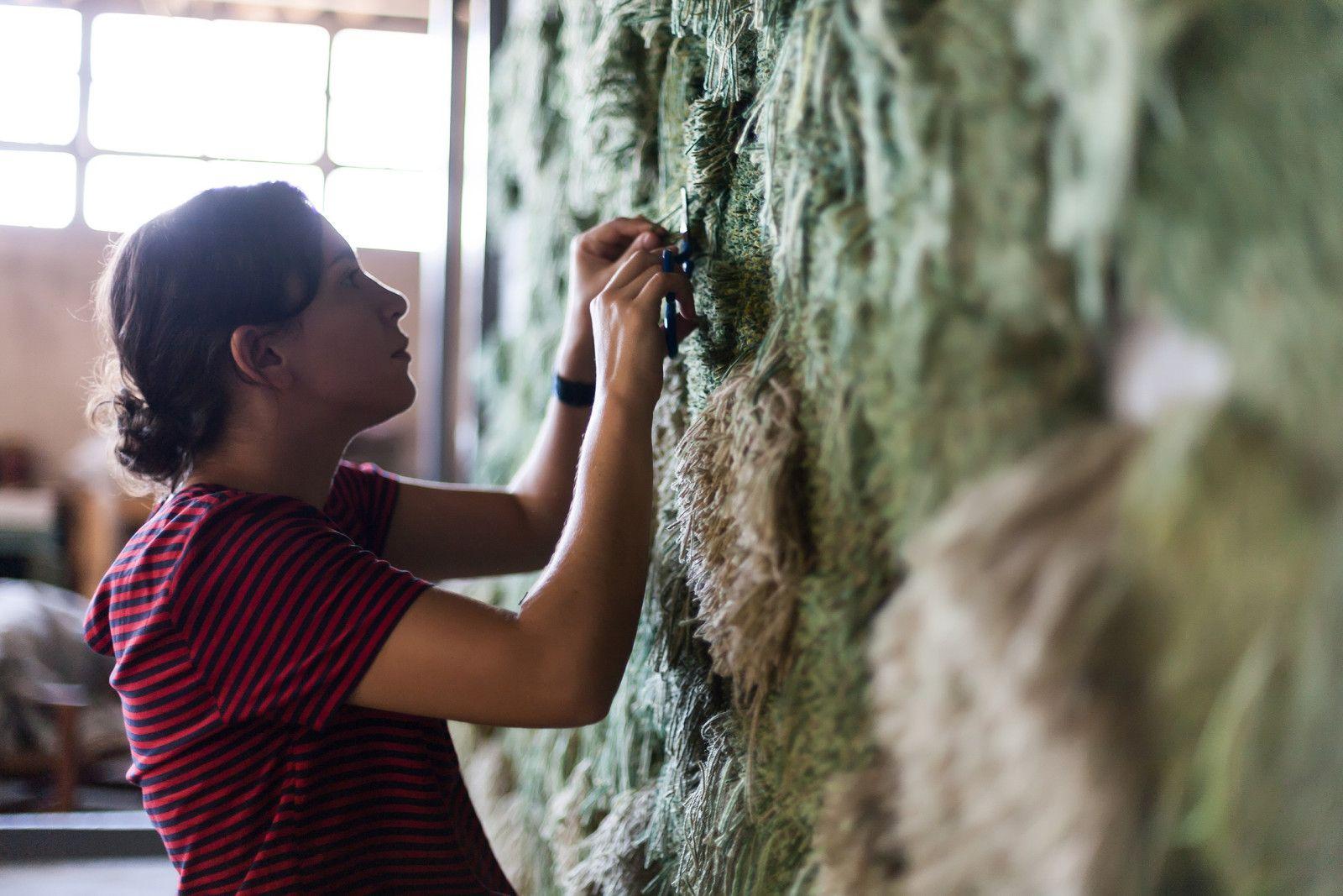 Interview met tapijtmaakster uit Brazilië
