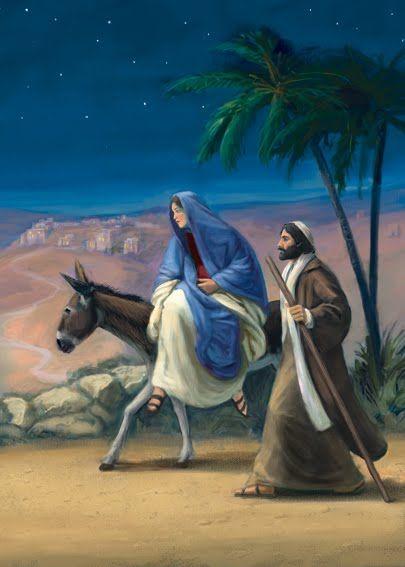Mary And Joseph Journey To Bethlehem Daniel Rodgers