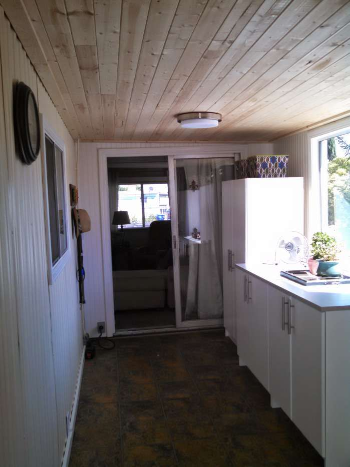 Complete Mobile Home Transformation: Spectacular Shiplap