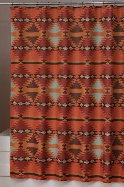 Exceptional Santa Fe Southwestern Shower Curtain