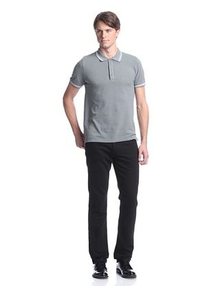 Calvin Klein Collection Men's Pique Knit Polo