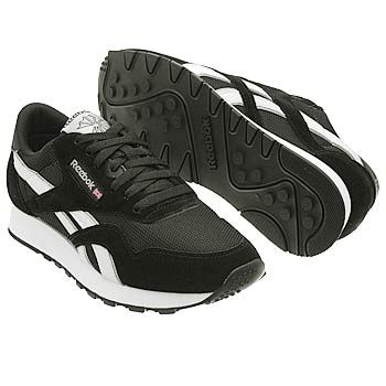 reebok classic shoes for men black