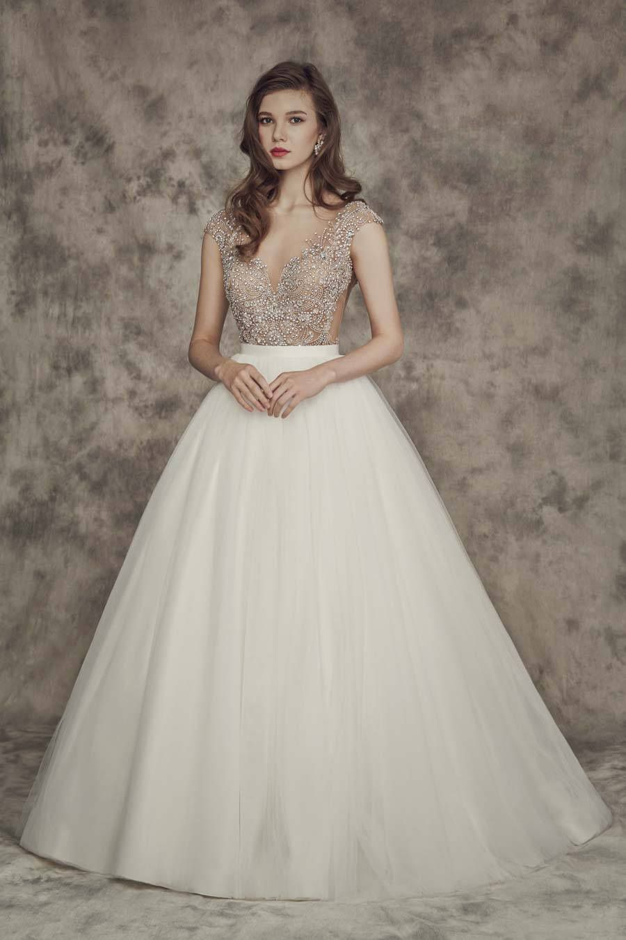 Carrie calla blanche pinterest bridal boutique offering a princess inspired look in a traditional ball gown silhouette this wedding dress exudes both timeless grace and contemporary charm with a ombrellifo Gallery