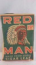VINTAGE RED MAN TOBACCO SOFT PACK G-237