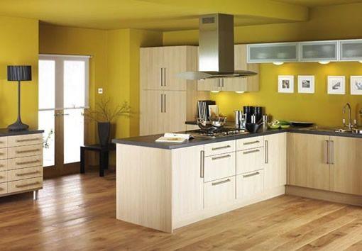 Como decorar una cocina en color amarillo - Para Más Información