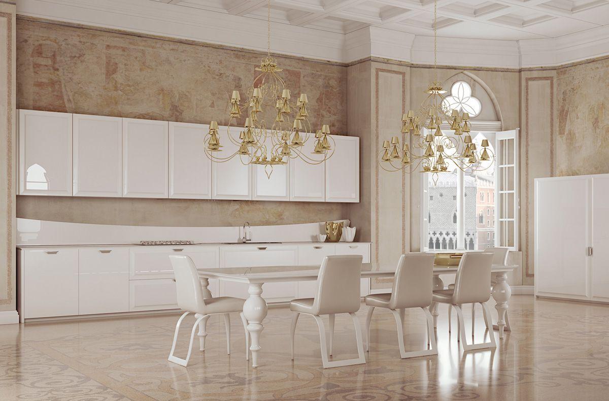 العصرية والفخامة في 10 مطابخ مودرن بتصميمات إيطالية مجلة ديكورات عالم من ديكور المنازل و التصميم الداخلي Contemporary Kitchen Modern Kitchen Home Decor