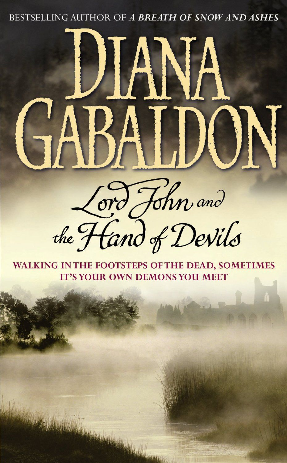 Lord John And The Hand Of Devils Diana Gabaldon Outlander Series Companion Short Stories Collection Curren Lord John Outlander Book Series Outlander Book