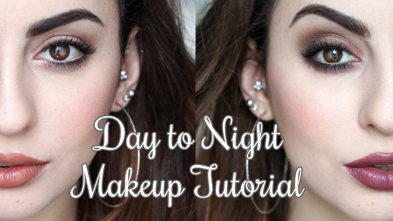 Day to Night Makeup Tutorial feat. TooFaced Chocolate Bar Palette