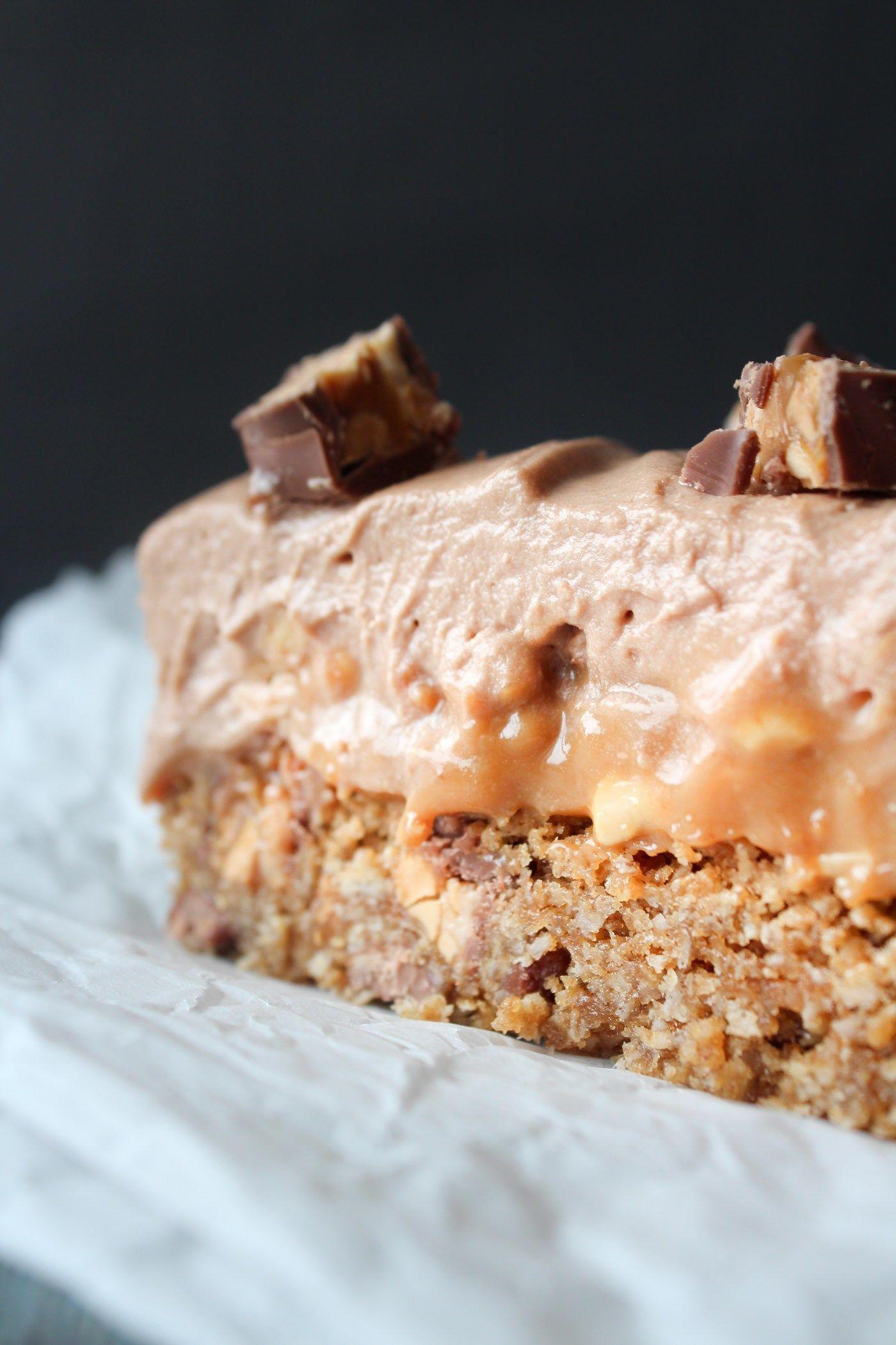Snickers Tærte Lækre kager, Kager opskrifter og Dessert