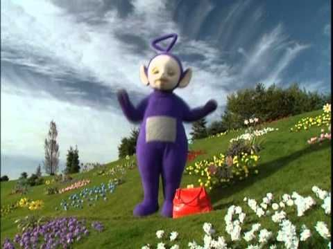 Teletubbies Here Come The Teletubbies Us Version Youtube Pbs