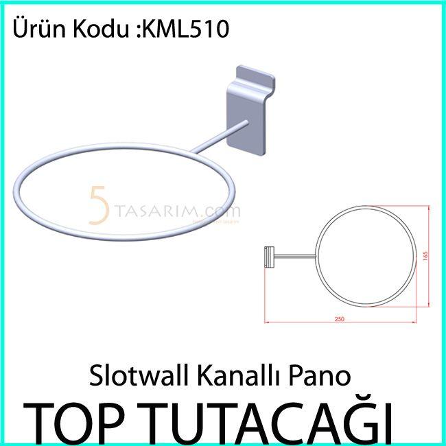 kanallı panel top tutacağı KML510