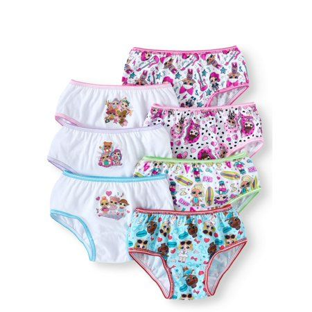 7e717941b1ba50 Free 2-day shipping on qualified orders over $35. Buy Girls Underwear, 7  Pack at Walmart.com