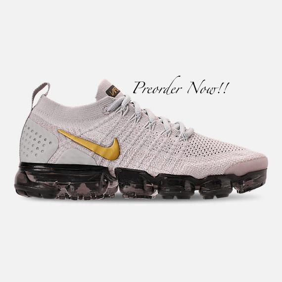 cheap for discount ca83a b4081 Swarovski Women s Nike Air Vapormax Flyknit 2 Grey Sneakers Blinged Out  With Authentic Clear Swarovski Crystals Custom Bling Nike Shoes
