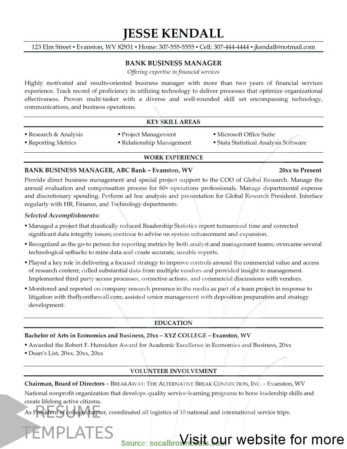 Teacher Cover Letter Example Business Resume Template Resume Examples Business Resume