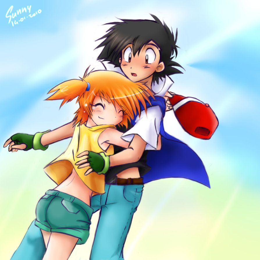 Misty Hugs Ash In Their Reunion As They Are Reunited At -4765