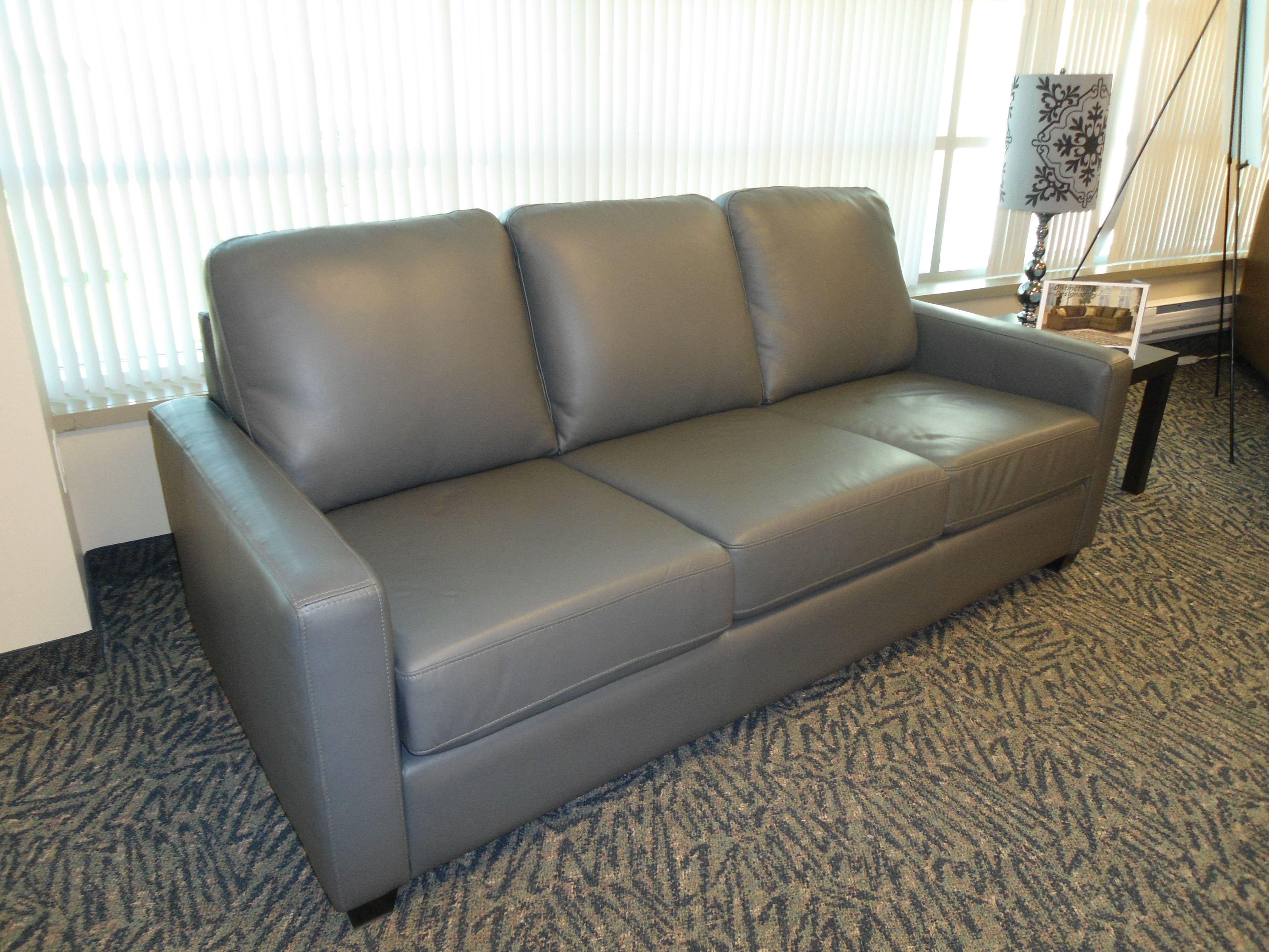 Condo Size Leather Sofa Made In Canada Furniture